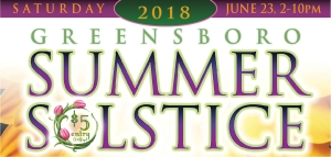 Greensboro Summer Solstice 2018